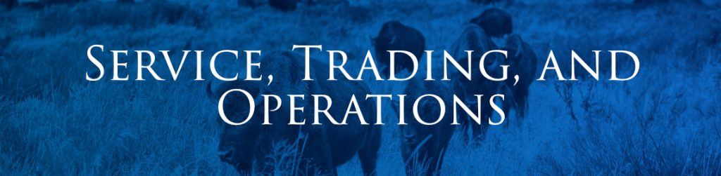 Service, Trading and Operations